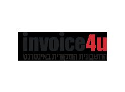 לוגו invoice4u החשבונית המקורית באינטרנט